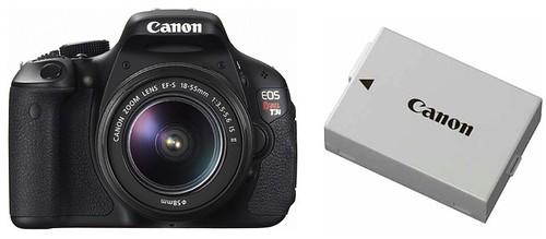 Canon T3i / 600D / Kiss X5 plus LP-E8 -- Batery Life