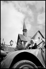 Sister Act (wimlex-nl) Tags: bw frank rotterdam citroen nederland 2cv non ente kerk 07 eend oranje roest hensen salbris wimlex 2cvtravel rageend wimlexnlsolex