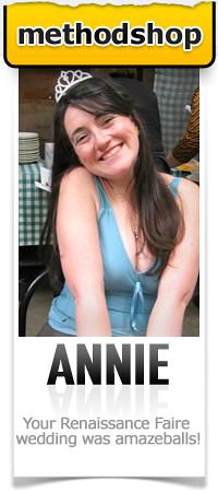 MethodShop Superfan: Annie