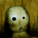 Frightened doll