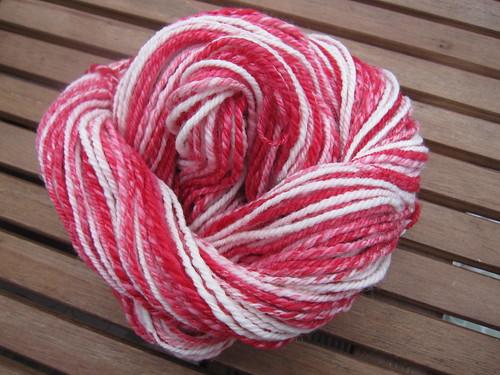 Candy Cane yarn