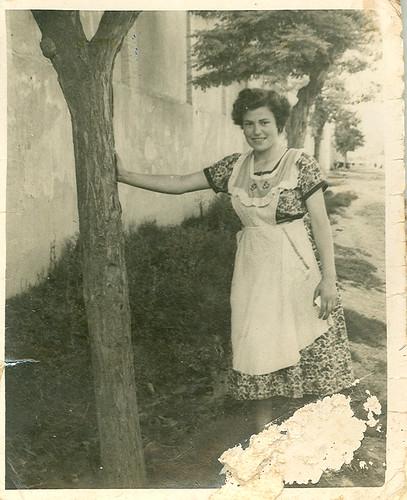 Josefina en la calle Lavadero