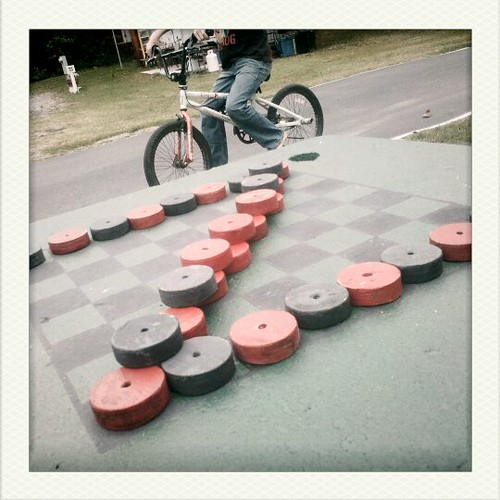 checkers in the park