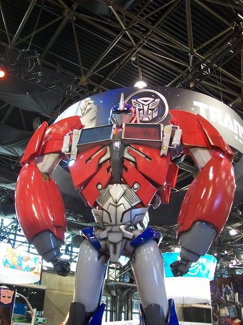 NYCC Optimus Prime