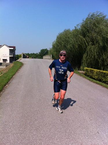 Lex running along the Mao river