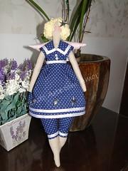 Mais uma Tilda, desta vez mais rechonchuda! (Fazendo arte com amor (Inger)) Tags: handmade artesanato boneca tilda