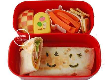 Bento #166 - Cheeky Quesadillas