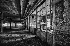 The Chair - Desolation Halls (Strlicfurln) Tags: bw monochrome canon chair sedia blackwhitephotos