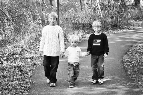 Roed Boys Oct 2011-1bw