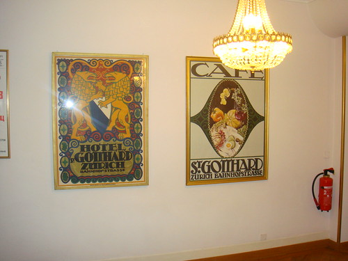 Posters del hotel