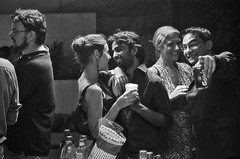 Spotting the Photographer (AvikBangalee) Tags: friends party people love beer smile drunk happy couple chat drink chips alcohol malaysia looks pointing carlsberg rooftopparty brickfields