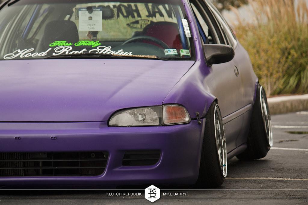 Honda Civic Eg Purple Nurple 6263862851_6cd06bd1ed_b