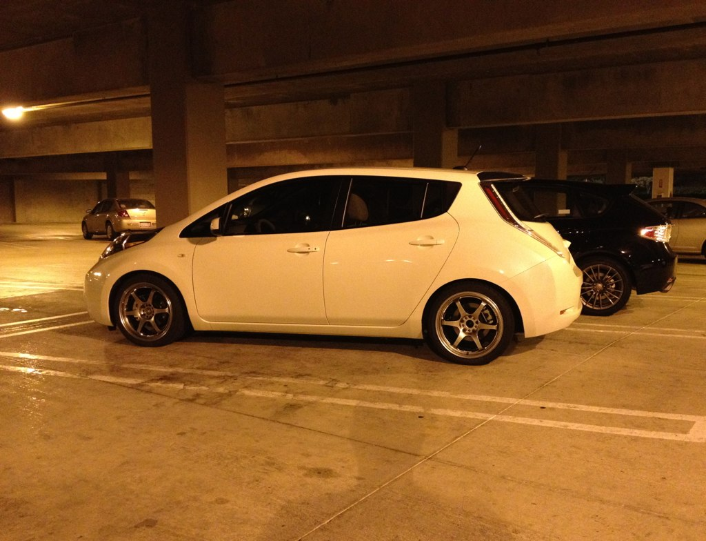 Slammed Nissan Leaf Tein Quot Street Basis Coilovers Page 12 My Forum