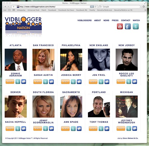 VidBlogger Nation by stevegarfield