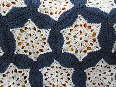 Starry Night 2 (Wool n Hook) Tags: star crochet afghan hexagon haken croche tejer hkeln virka hkle ganchillo crochetblanket haakwerk hekle crochetthrow szydelkowac