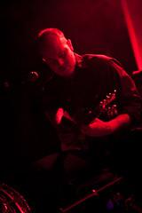 Timber Timbre (rtomada) Tags: lighting red music canada church nova saint st festival concert timber live explosion performance pop terrible backlit matts scotia halifax timbre matthews 2011 hpx halifaxpopexplosion