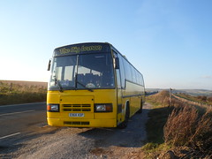Yellow coach and the Sussex Countryside (Ryanbus22) Tags: bus buses sussex drive volvo big coach lemon brighton final scrap paramount the plaxton b10m e968kdp e169omd