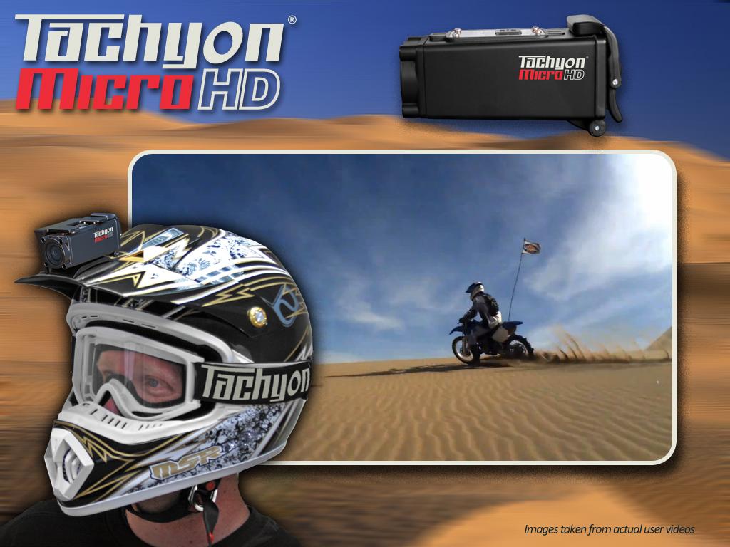 Tachyon Micro HD Helmet Cam
