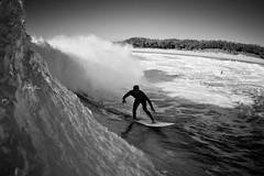 tuesday morning (SARA LEE) Tags: morning bw surf surfer wave australia surfing fisheye tuesday qld queensland aus whitewash goldcoast straddie waterhousing sarahlee 1528 kobetich surfhousing vivantvie