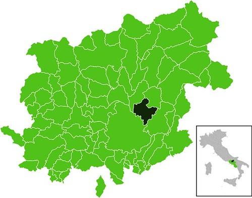 Pietrelcina dentro de la Provincia de Benevento