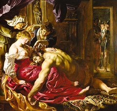 Peter Paul Rubens - Samson and Delilah, 1609 at the National Gallery London England (mbell1975) Tags: england london art dutch museum painting paul golden europe gallery museu grand musée musee m peter national age gb museo masters delilah samson sir rubens muzeum 1609 müze museumuseum