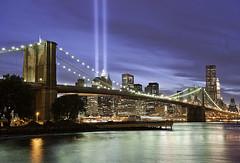 9/11 Memorial Lights NYC (DiGitALGoLD) Tags: nyc lights memorial 911 memoriallights tributeinlights 911memoriallights nycmemoriallights
