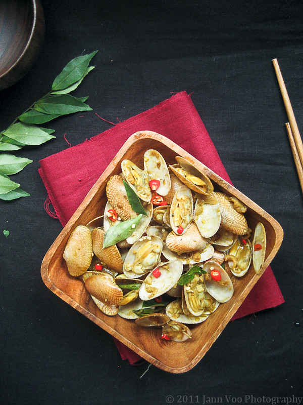 Malaysian Kam Heong Bamboo Clams (Spicy) 金香炒拉拉