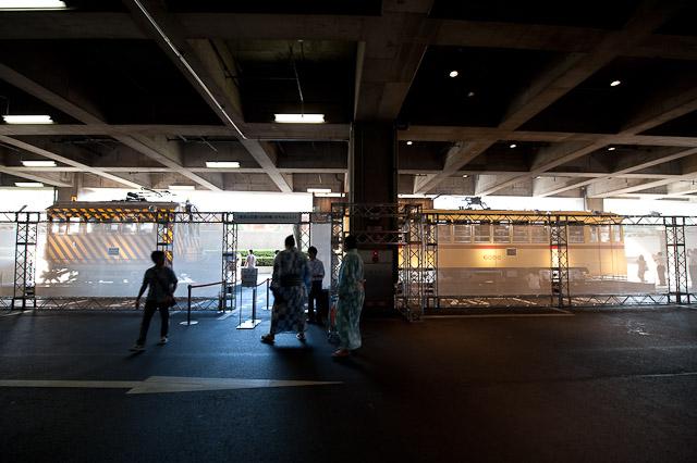 東京の交通100年博 屋外展示場