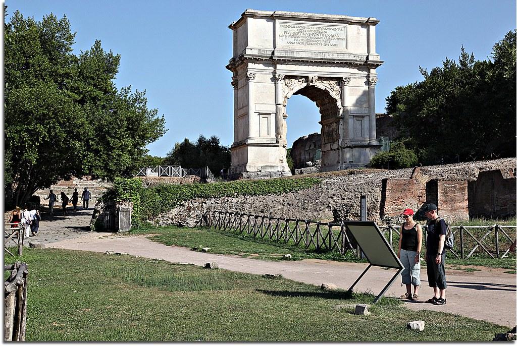 Arco de Tito / Arch of Titus - Roma - Itália