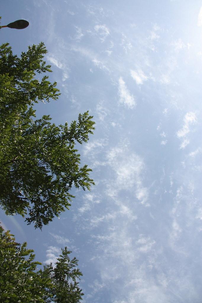 土默特右旗天空
