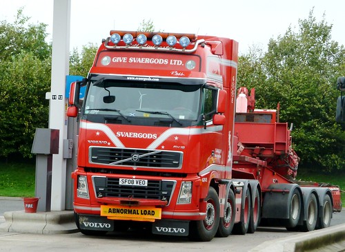 VOLVO FH 16 - GIVE SVAERGODS LTD. Uddingston Glasgow Scotland