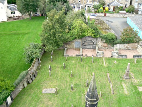 The graveyard from the tower