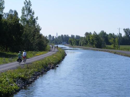 Towpath bikeway