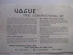 vogue manual preface (meccanohig) Tags: steel vogue sets constructional
