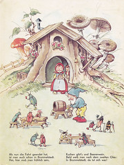 In Brummelstadt / Bild 2 (micky the pixel) Tags: mushroom bug buch book dwarf kabouter livre kfer pilz zwerg kinderbuch bilderbuch fritzbaumgarten hallimasch wichtelmann inbrummelstadt pestalozziverlag wichtelfrau