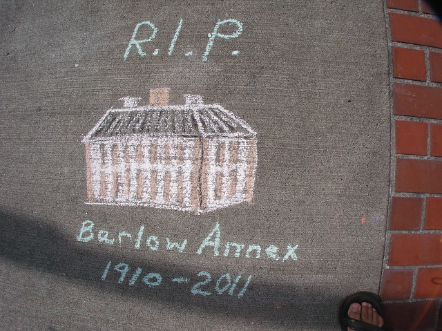 Heidi Says: RIP Barlow Annex 1910 - 2011