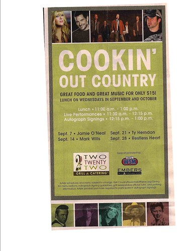 Cookin' Out Country