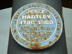 Photo of Jesse Hartley blue plaque