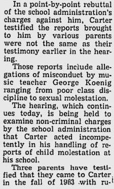 CARTER ADN MAY 1984 - excerpt 1