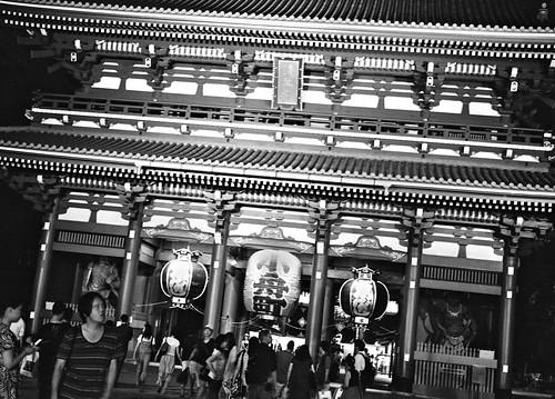 浅草寺 ライトアップ