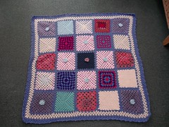 Ladies over on the MSE Thread sent these Squares to Chalky75 who very kindly made this Blanket up and donated to SIBOL! i am just so touched by your kindness. Thank You all!