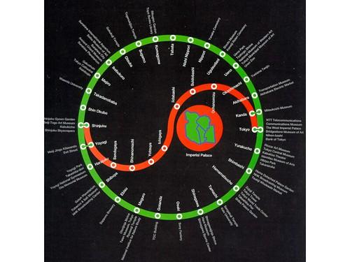 Tokyo Simple Subway Map