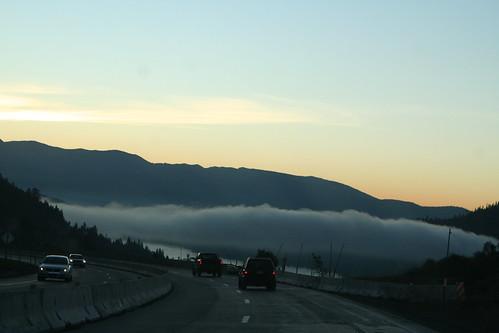 Pre-Dawn Drive to Squaw Valley