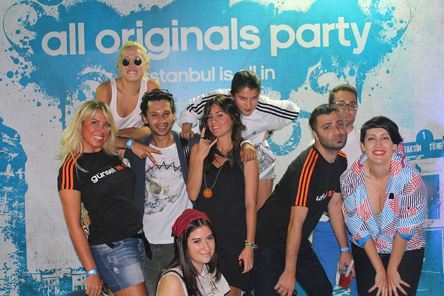 adidas is all in, adidas, adidas all originals party, all originals party, Onur Yüksel, Nice Things for Nice Boys, Zelfist,