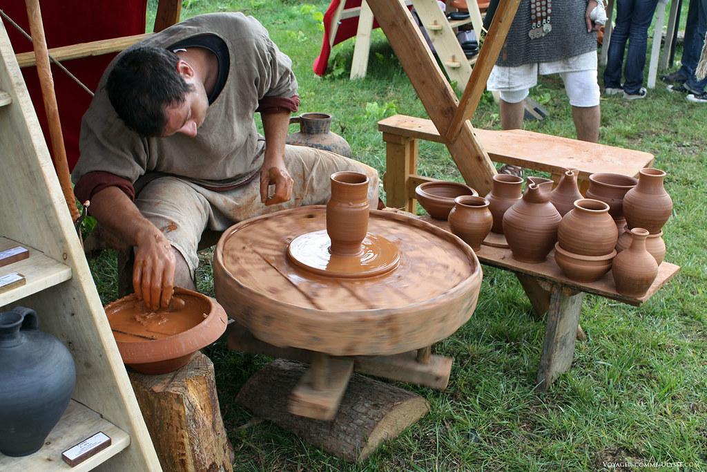 Atelier de poterie antique