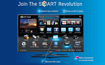Develop educational apps for the Samsung Smart TV « Tech bytes for tea?