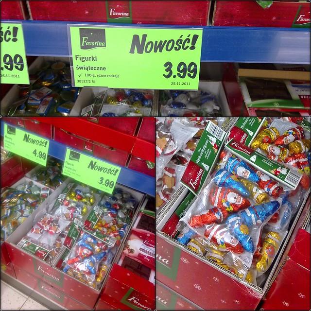 Wrześniowy Mikołaj w Lidlu