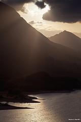 ..goodbye... (Francesco.Lorusso) Tags: sunset parco lake nature landscape eos l 5d 70200 f4 abruzzo mkii nazionale barrea