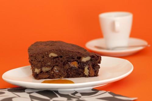 Pastís de xocolata amb fruites seques 1