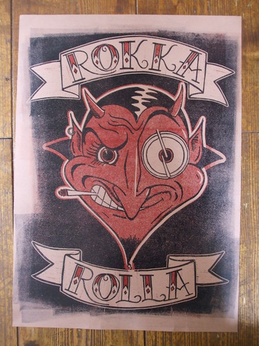 RoKKa RoLLa by oldfieldpress